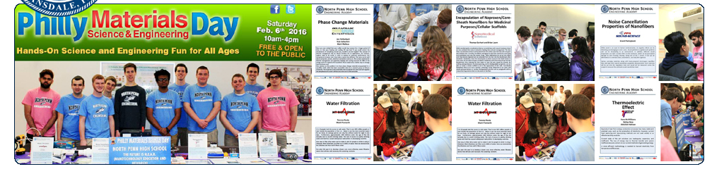 02-06-16: North Penn Students Present at Philly Materials Day!